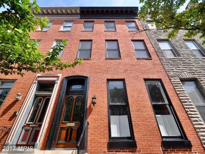 Baltimore City Townhouse For Sale: 2102 Pratt Street E