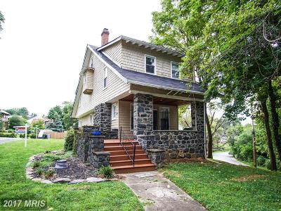 Baltimore Single Family Home For Sale: 2516 Queen Anne Road