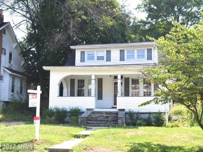 Baltimore Single Family Home For Sale: 233 Mallow Hill Road