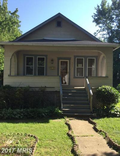 Single Family Home For Sale: 3036 Westfield Avenue