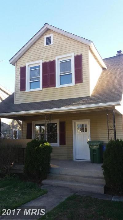 Hamden, Hamilton, Hamilton Area, Hamilton-Lauraville, Hamilton/Parkville, Hamilton/Rosemont East, Hamiltowne Single Family Home For Sale: 3116 White Avenue