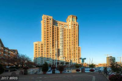 Baltimore City Rental For Rent: 100 Harborview Drive #1702
