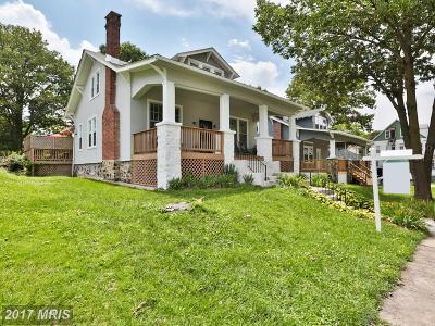 Baltimore Single Family Home For Sale: 3907 Springdale Avenue