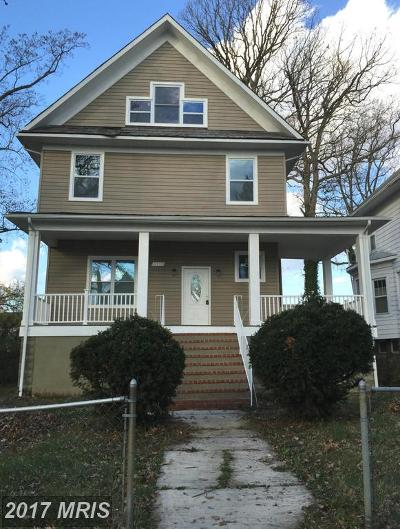 Baltimore Single Family Home For Sale: 4106 Boarman Avenue