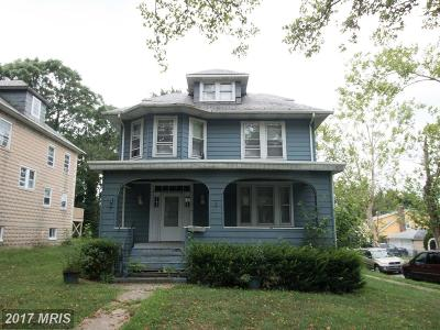 Single Family Home For Sale: 2901 Southern Avenue