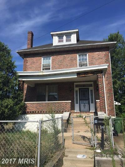 Baltimore Single Family Home For Sale: 5500 Ritter Avenue