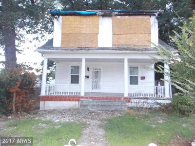 Baltimore Single Family Home For Sale: 4912 Ivanhoe Avenue
