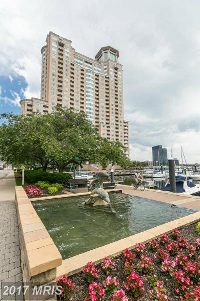 Baltimore City Rental For Rent: 100 Harborview Drive #1010