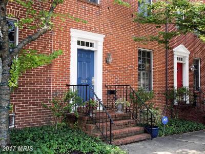 Baltimore City Condo For Sale: 209 W. Hill Street