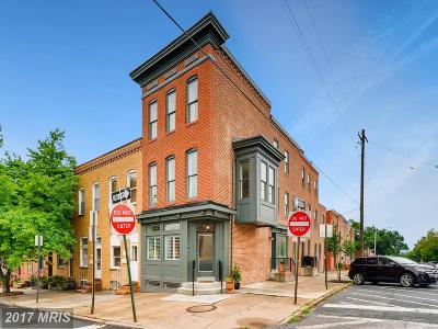 Canton, Canton Company, Canton Cove, Canton East, Canton, Patterson Park, Canton/Brewers Hill, Canton/Lighthouse Landing Townhouse For Sale: 700 Clinton Street