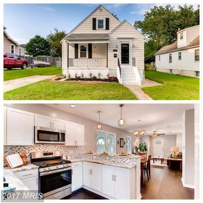 Hamden, Hamilton, Hamilton Area, Hamilton-Lauraville, Hamilton/Parkville, Hamilton/Rosemont East, Hamiltowne Single Family Home For Sale: 2814 Fleetwood Avenue