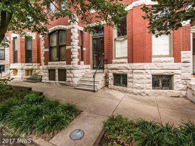 Baltimore Townhouse For Sale: 1711 Linden Avenue