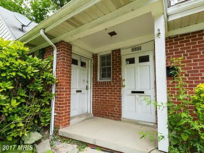 Baltimore City Multi Family Home For Sale: 732 Brookwood Road