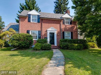 Baltimore Single Family Home For Sale: 702 Saint Georges Road
