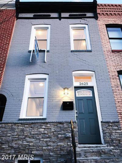 Baltimore Condo For Sale: 2625 Hudson Street