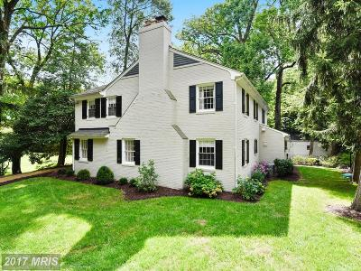 Baltimore Single Family Home For Sale: 15 Edgevale Road