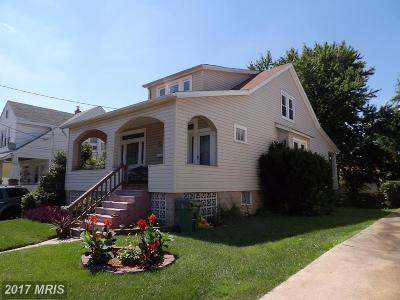 Baltimore Single Family Home For Sale: 4618 Kavon Avenue