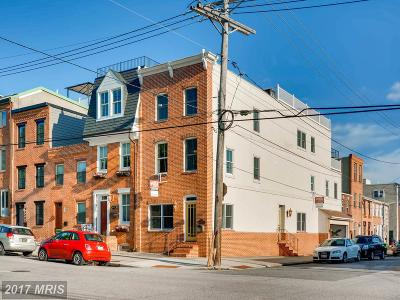 Baltimore Townhouse For Sale: 3401 Dillon Street