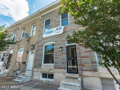 Baltimore Townhouse For Sale: 27 Ellwood Avenue