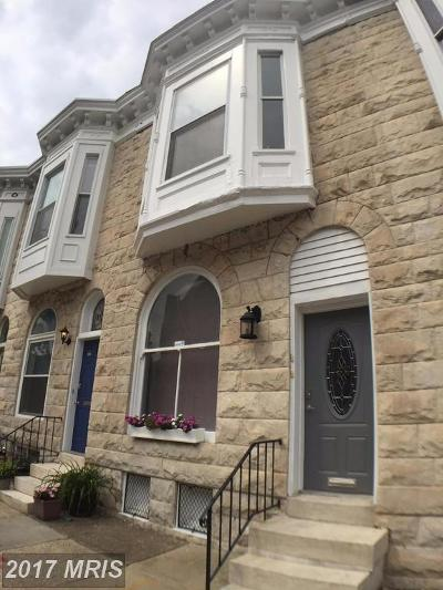 Baltimore Multi Family Home For Sale: 1302 Charles Street S