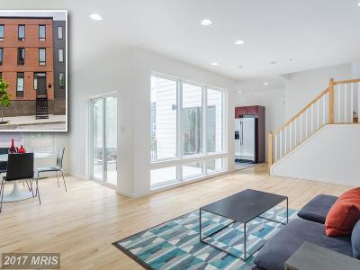 Baltimore Townhouse For Sale: 1525 Preston Street E