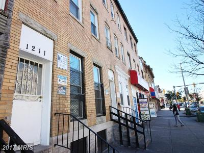 Baltimore Multi Family Home For Sale: 1211 North Avenue W