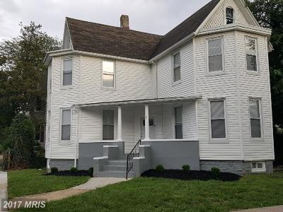 Baltimore Single Family Home For Sale: 601 Montpelier Street