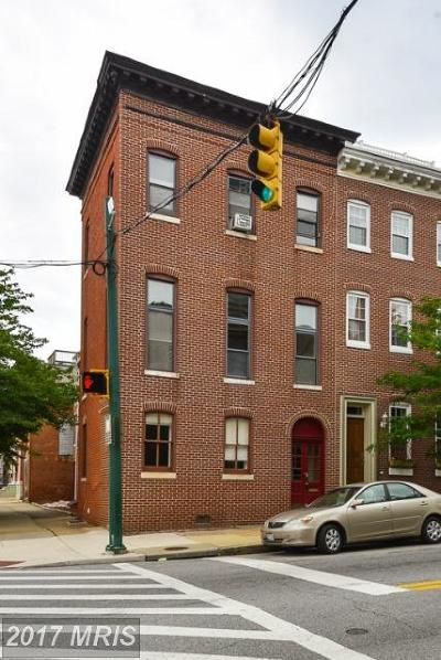 Baltimore Townhouse For Sale: 2000 Baltimore Street E