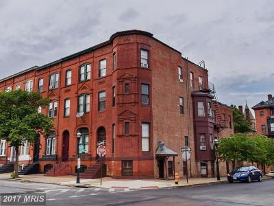 Baltimore Multi Family Home For Sale: 1801 Madison Avenue