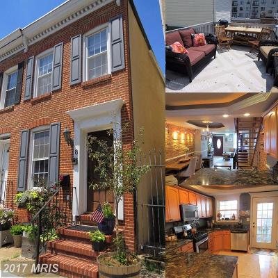 Baltimore Townhouse For Sale: 8 E Barney Street