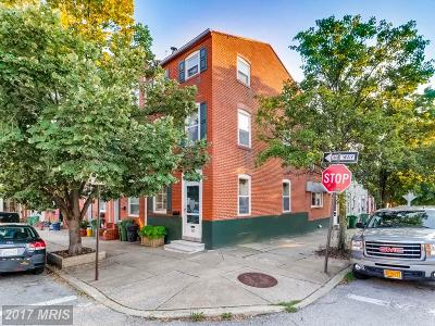 Baltimore Townhouse For Sale: 600 Montford Avenue S