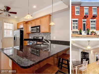 Baltimore Townhouse For Sale: 3824 Fait Avenue