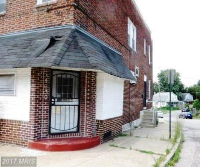 Baltimore Townhouse For Sale: 4630 Belair Road