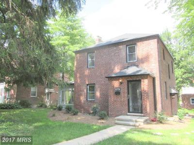 Baltimore Single Family Home For Sale: 834 Belvedere Avenue E