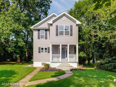 Baltimore Single Family Home For Sale: 2309 Ivy Avenue