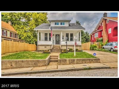 Baltimore Single Family Home For Sale: 2822 Christopher Avenue