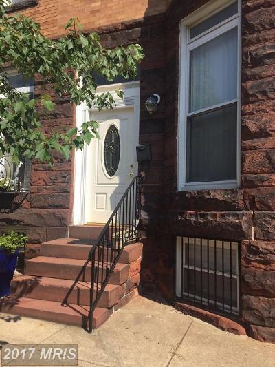 Baltimore Single Family Home For Sale: 704 Newington Avenue