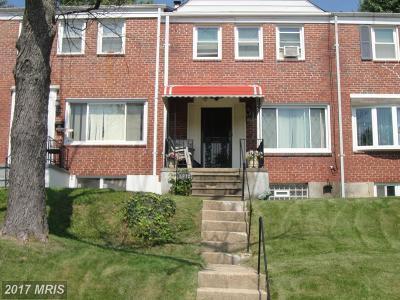 Baltimore Townhouse For Sale: 5912 Fenwick Avenue