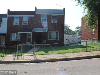Baltimore MD Townhouse For Sale: $74,900