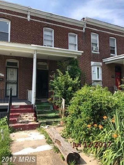 Baltimore Condo For Sale: 737 36th Street