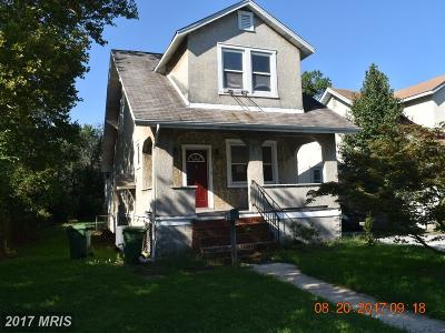 Baltimore Single Family Home For Sale: 3031 Fleetwood Avenue