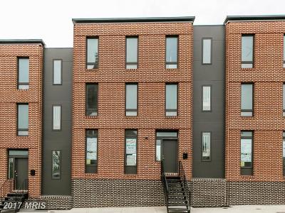 Baltimore Townhouse For Sale: 1517 Preston Street