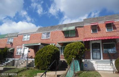 Baltimore Condo For Sale: 2580 Cecil Avenue