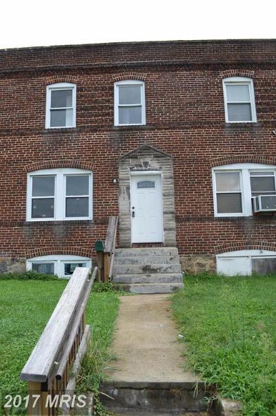 Baltimore Condo For Sale: 1218 Steelton Avenue