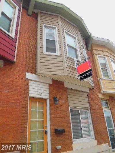 Baltimore Condo For Sale: 112 Ellwood Avenue S