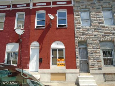Baltimore Townhouse For Sale: 831 Montford Avenue N