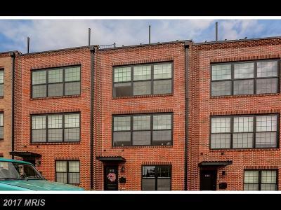 Baltimore City Condo For Sale: 612 Dean Street