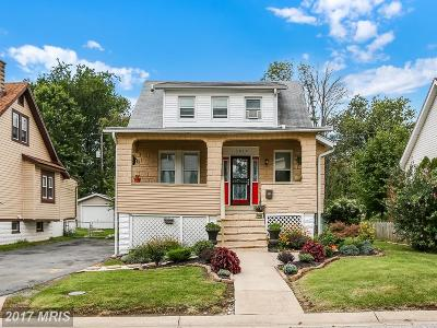 Hamden, Hamilton, Hamilton Area, Hamilton-Lauraville, Hamilton/Parkville, Hamilton/Rosemont East, Hamiltowne Single Family Home For Sale: 5912 Burgess Avenue