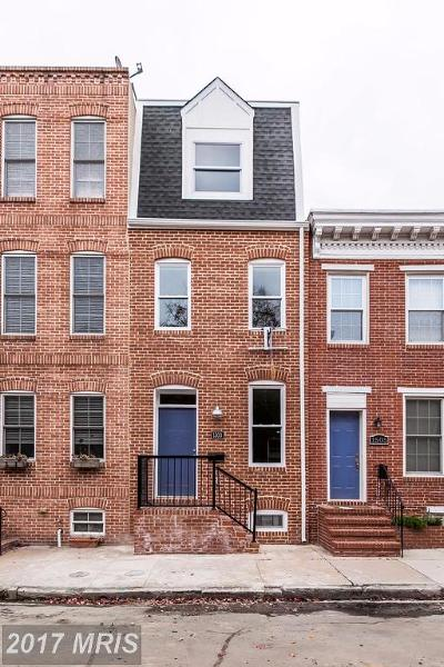 Baltimore City Condo For Sale: 1503 William Street