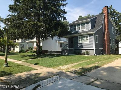 Baltimore Single Family Home For Sale: 2814 Alvarado Square